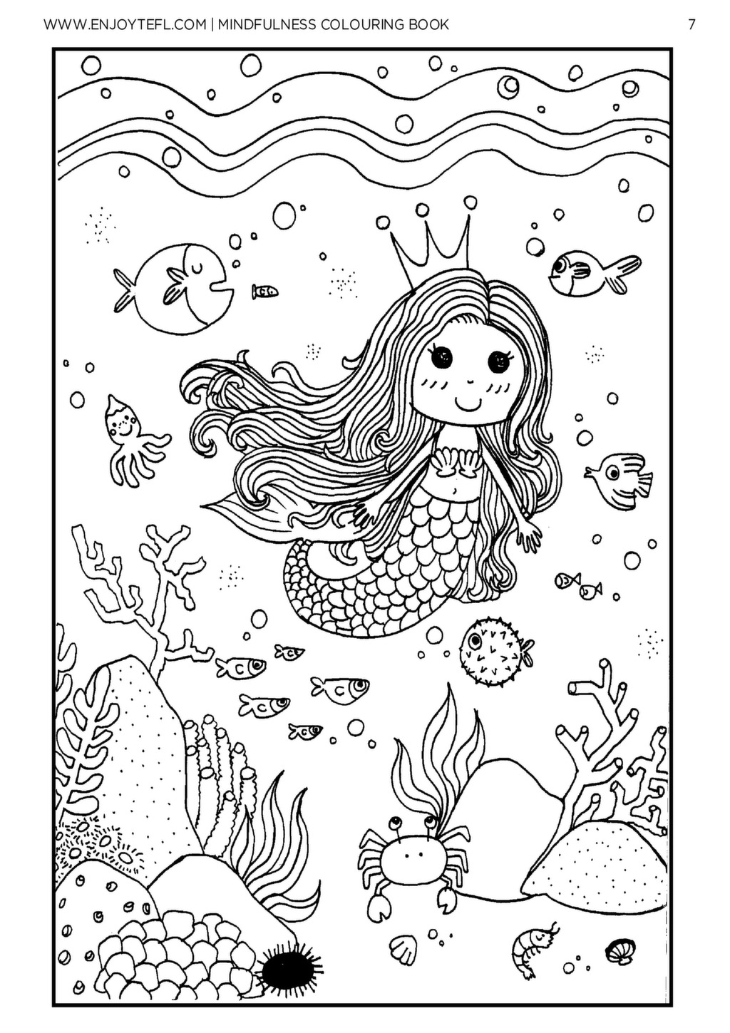 Mindfulness Coloring Pages Pdf : Mindfulness colouring book enjoy tefl